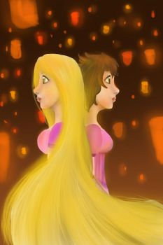 Flower gleam and glow by MotherOfDrawings