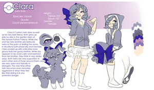 Clara Espurr Reference by Skitea