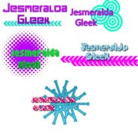 Pack Textos PNG Jesmeralda Gleek (Pedido) by FriEvans