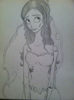A corpse bride by Graceful-CORPSE