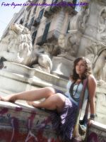 Fede-Ayame Barefeet In Rome by SelfshotYourFeet