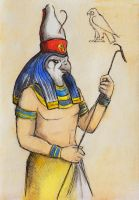 Horus by AnotherStranger-Me