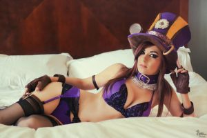 Boudoir Caitlyn I by EnchantedCupcake