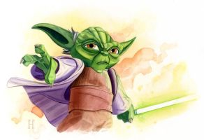 Clone Wars Yoda by roberthendrickson