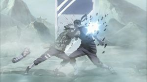 Kakashi and Zabuza clashed each other by TheBoar