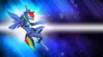 Wallpaper - Dashiebot through the space by romus91