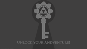 Unlock your Adventure Wallpaper by NightmareDashy