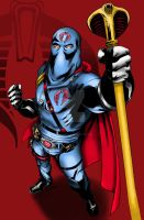 Cobra Commander by LarsonJamesART
