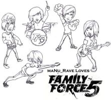 Family Force 5 by Manu by FamilyForce5