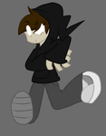 Johnny Trancer! ::New OC:: :New Drawing Style!: by LockYourHeart
