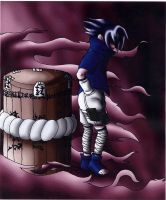 Sasuke and the BARREL by zeechawan