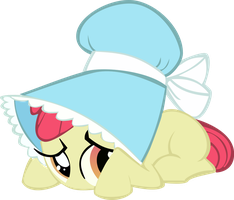 Embarrassed Apple Bloom Is Cutest Apple Bloom by Alphanz