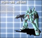 RGM-89 Jegan Profile by zeiram0034