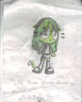 Contest entry: Lily by Snowyandshadsnowy