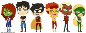 Toon Young Justice by rosey-so-silly