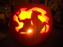 Headless Horseman by prairiecat
