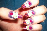 cupcake nail art by butterfly1980