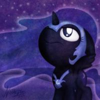 Filly Nightmare Moon by NoPonyZone