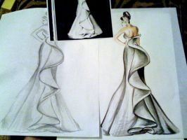 Fashion Sketch uh. by LasairLove
