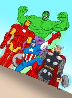 Avengers Assembled! by scootah91