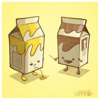 Practical Milk Joke by AlbertoArni