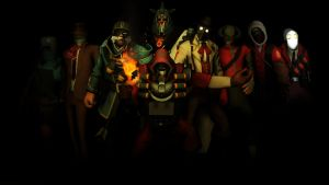 [SFM] TF2 - CoP - The Mysterious Bunch by LoneWolfHBS