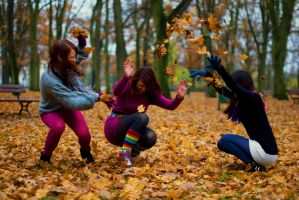 Autumn fun by AnitaSadowska