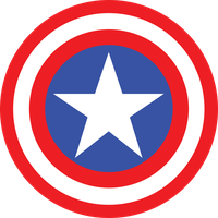 Captain America Symbol Fill by mr-droy