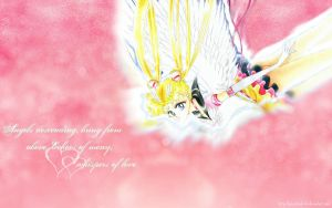 Sailor Moon the Angel by Jesusfreak-kk