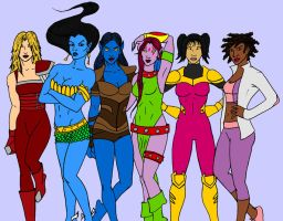Women of the Exiles by tapwater86