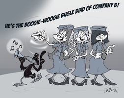 The Boogie Woogie Bugle Bird.. by Granitoons