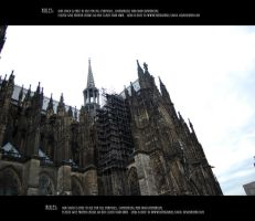 Cologne cathedral 9 by Mithgariel-stock