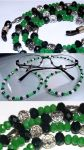 Eyeglass tether - Green by LissaMonster