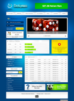 Betyum Online Betting Web Site by interfacedesigner