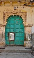 Old door. India by jennystokes