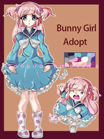 Bunny girl adopt auction (open) -edit- by poopoo-himesama