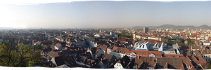 Panorama of Graz by StefanJanisch