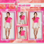 Pack Png 282 - Holland Roden by BEAPANDA