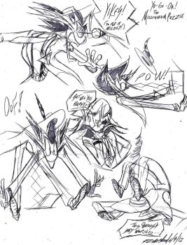 YGO-TMP--Yami Stretching by Kineil-Wicks