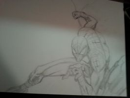 Spider-Man pencils by RyanAtchley
