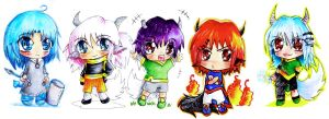 Chibis to Aoino by J-C-P