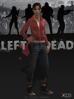 Zoey - Left 4 Dead by JhonyHebert