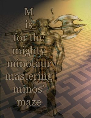 M is for Minotaur