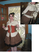 Steampunk esque Lolita by neduls