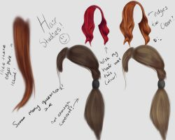 Hair Study 1 by RachelAnns