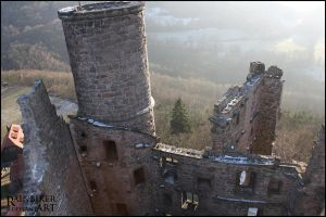 Ruins of Castle HANSTEIN  4 by Rainbiker