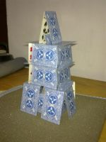 My Card Tower 2 by RoyCorleone