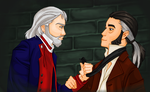 Either Valjean or Javert by DetectiveMel