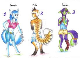Anthros AUCTIONS! starts at 80pnts 1LEFT by Drerika
