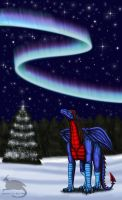 Northern lights by Ravenfire5